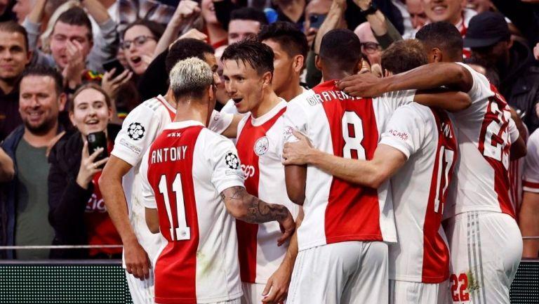 Ajax derrotó al Besiktas