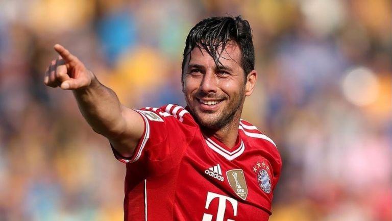 Pizarro en su paso por el Bayern