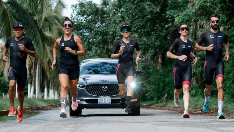 Excelente participación en el Mazda Ironman 70.3 de Cozumel