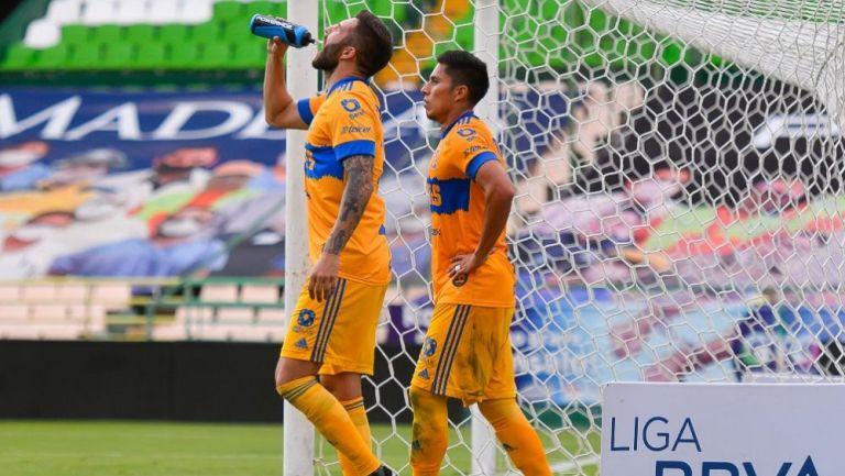 Gignac y Salcedo, jugadores de Tigres