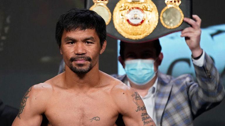 Manny Pacquiao anunció su retiro del boxeo para enfocarse en candidatura presidencial
