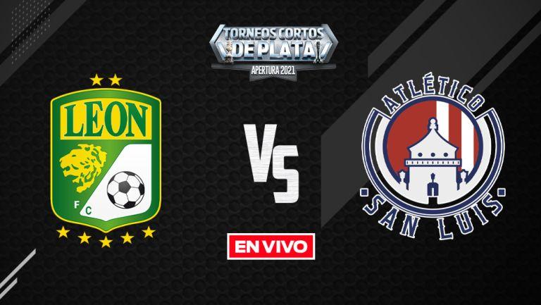 EN VIVO Y EN DIRECTO: León vs Atlético de San Luis Liga Apertura 2021 J12