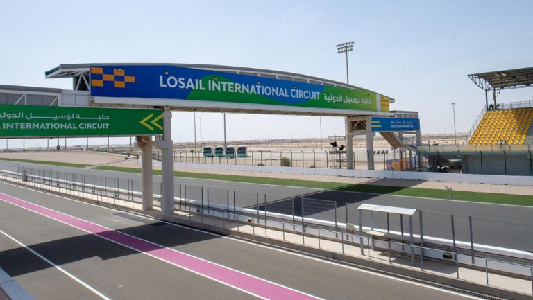 Así luce el circuito de Losail, Qatar