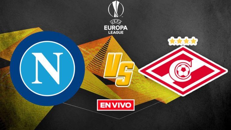 EN VIVO Y EN DIRECTO: Napoli vs Spartak Moscú