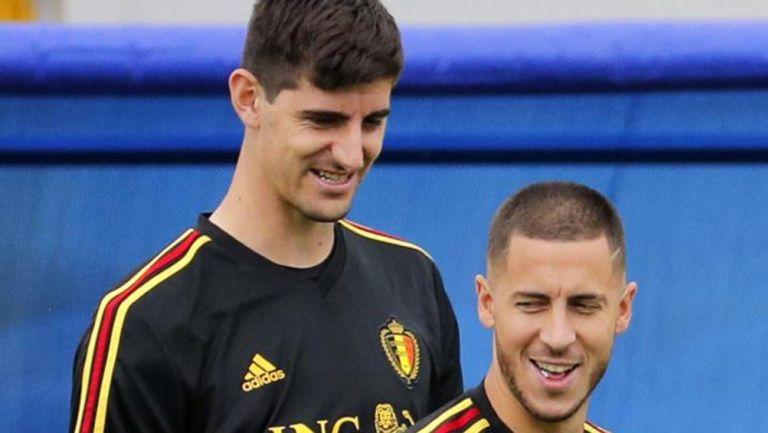 Bélgica: Heden Hazard, Thibaut Courtois y Yannick Carrasco, convocados para Nations League