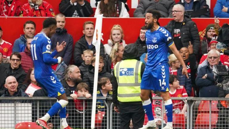 Andros Townsend tras anotar gol a favor del Everton