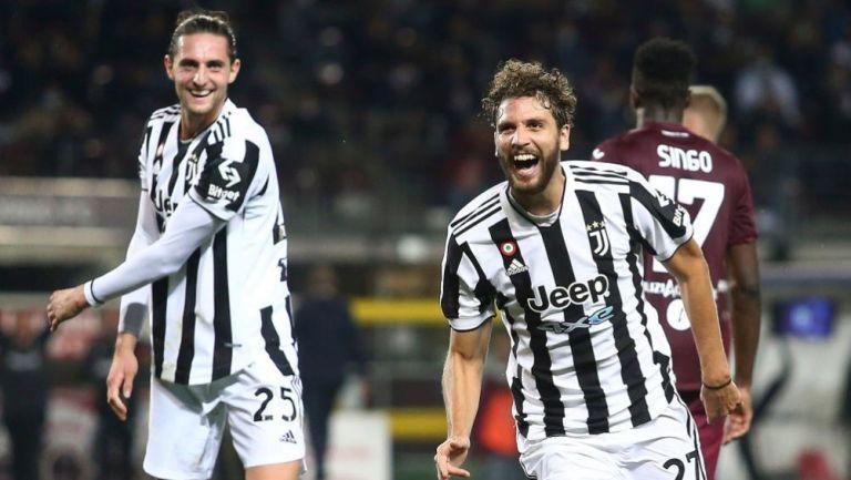 Locatelli tras anotar gol ante el Torino