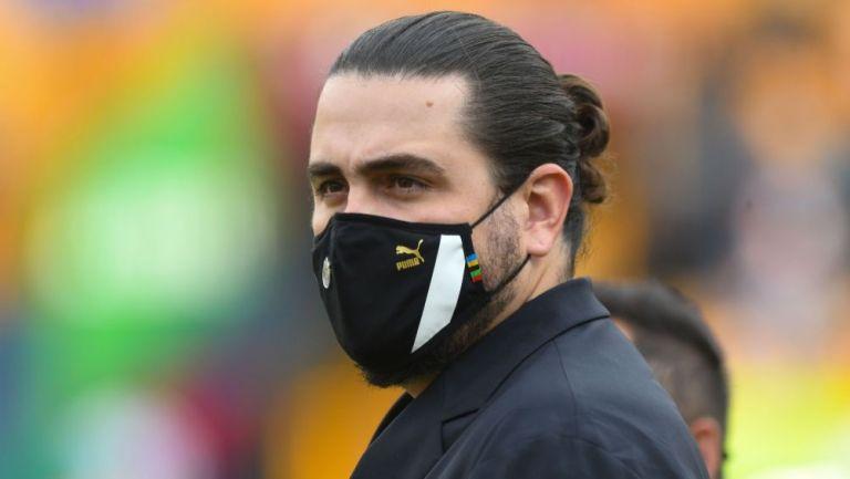 Amaury Vergara en el duelo entre Chivas y Tigres