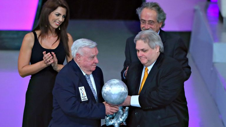 Jose Luis Lamadrid y Carlos Bremer, en evento