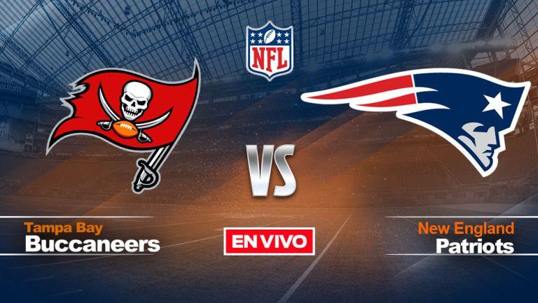 EN VIVO Y EN DIRECTO: Tampa Bay Buccaneers vs New England Patriots