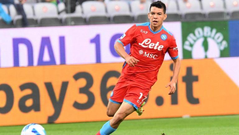 Hirving 'Chucky' Lozano se enfrenta al Fiorentina en la Serie A