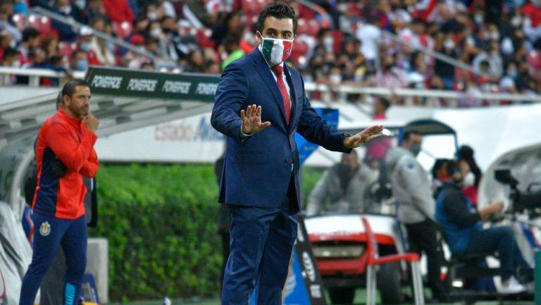 Marcelo Michel Leaño durante el Clásico Tapatío