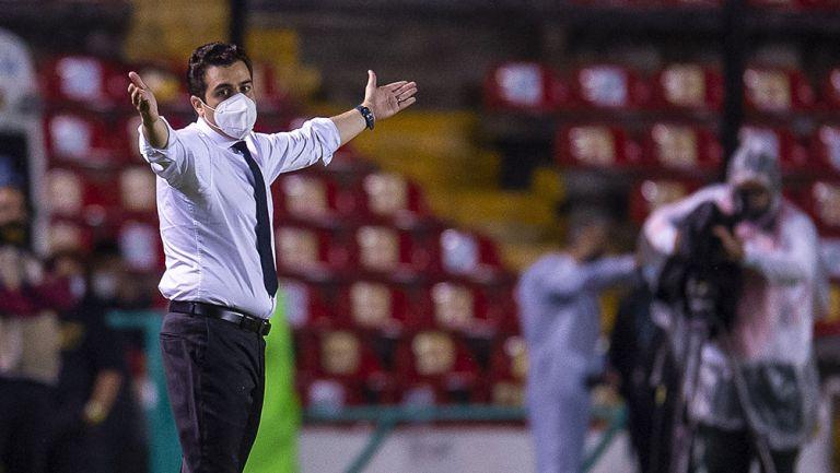 Marcelo Michel Leaño en un partido de Chivas
