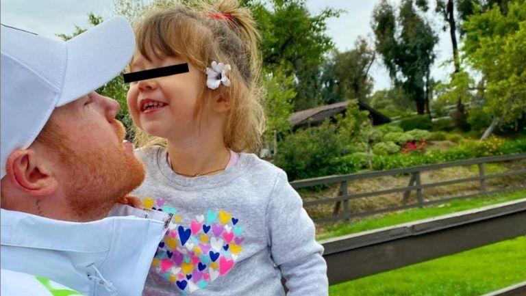 Canelo Álvarez 'presumió' nuevo peinado, obra de su hija