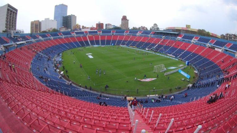 El Estadio de la Ciudad de los Deportes, actual casa del Atlante