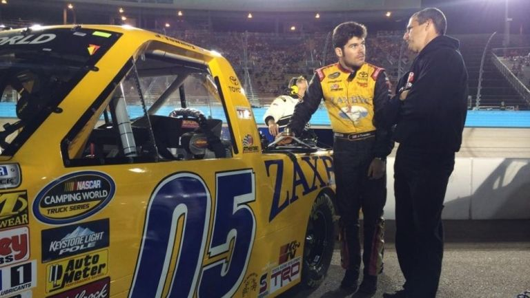 John Wes Townley fue piloto de NASCAR
