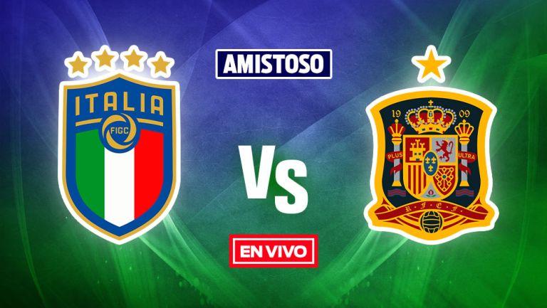 EN VIVO Y EN DIRECTO: Italia vs España