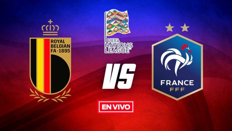 EN VIVO Y EN DIRECTO: Bélgica vs Francia: Nations League Semifinal 2021