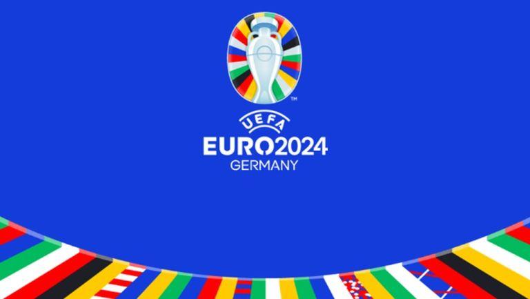Logo del torneo para la edición 2024 de la Eurocopa