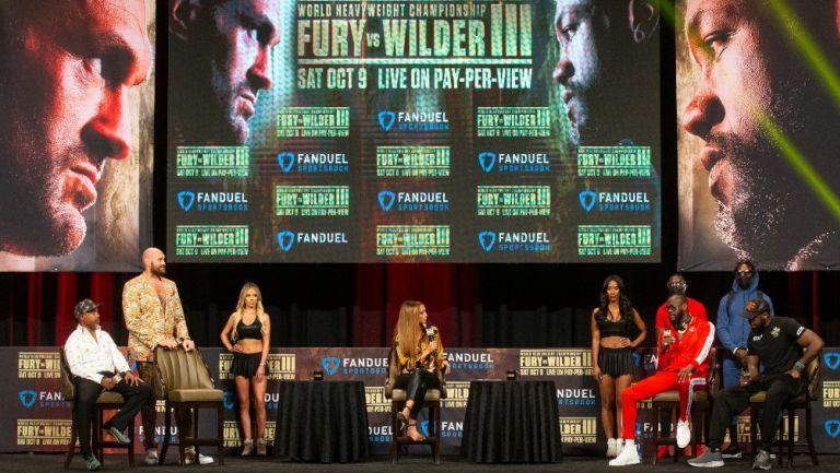 Tyson Fury vs Deontay Wilder: El Rey de los Gitanos prometió noquear al estadounidense