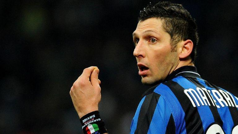 Marco Materazzi en su paso con el Inter de Milan