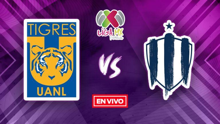 Tigres vs Rayadas Liga MX Femenil EN VIVO Apertura 2021 Jornada 12