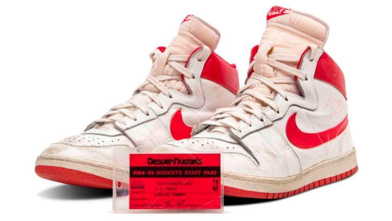 Michael Jordan: Sotheby's subastará zapatillas del exbasquetbolista en 1.5 millones de dólares