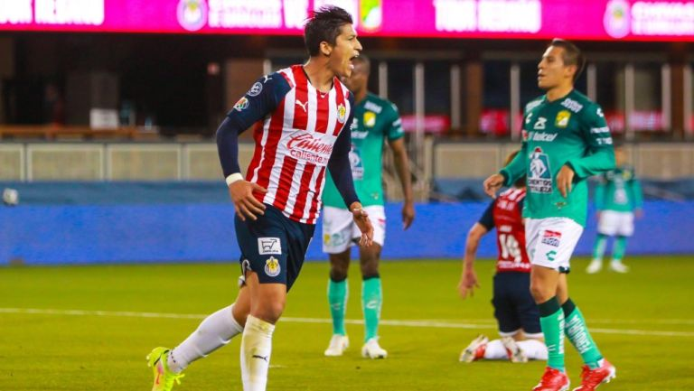 Chivas: Ángel Zaldivar terminó con racha sin gol en la era Michel Leaño