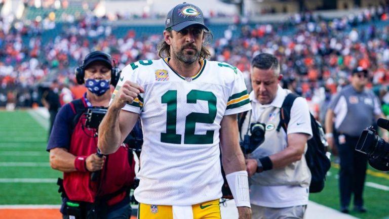 Aaron Rodgers tras la victoria de los Packers sobre los Bengals