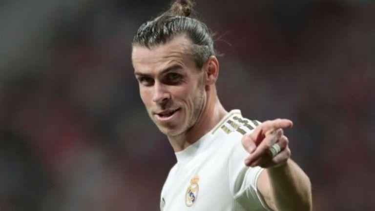 Gareth Bale en un partido del Real Madrid