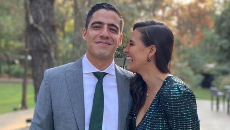 Andrés Vaca y Gina Holguín se casaron por el civil