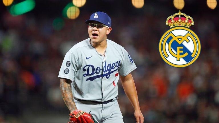 Urías en un juego con Dodgers