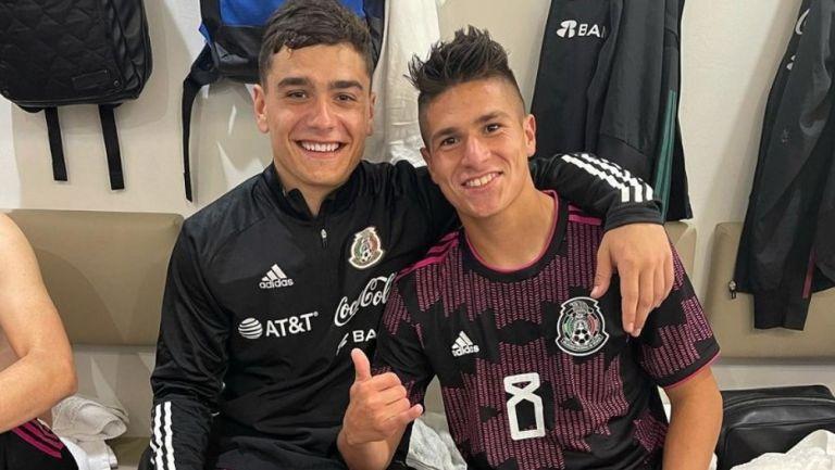 Selección Mexicana: Loquito Abreu y Luca Martínez Dupuy anotaron en amistosos de la Sub 20 y Sub 21