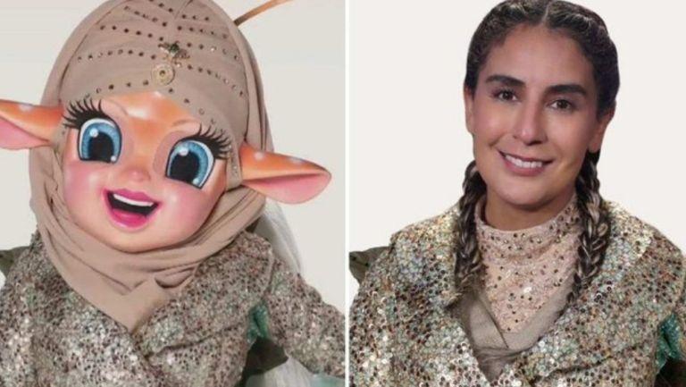 Paola Espinosa participó en ¿Quién es la máscara?