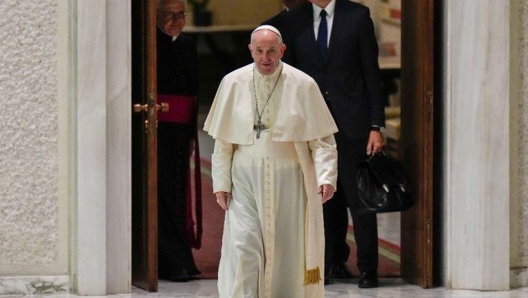 Papá Francisco en el Vaticano