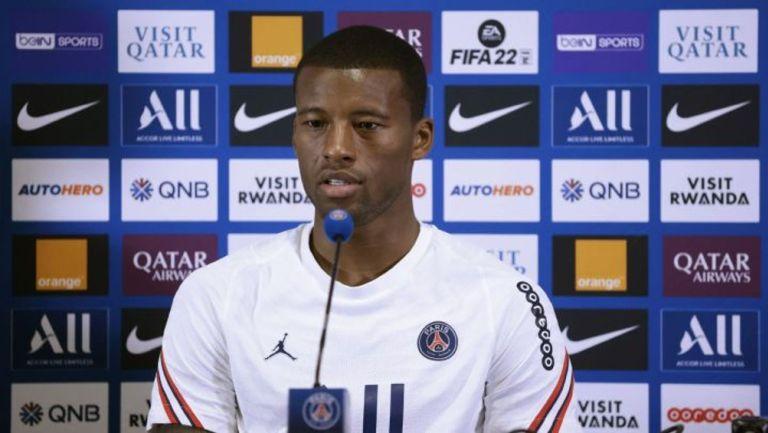 Georgino Wijnaldum: 'No puedo decir que esté completamente feliz en el PSG'