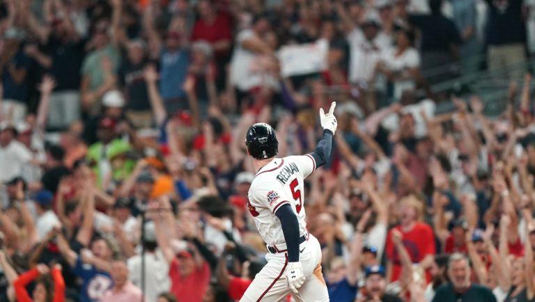 Freddie Freeman fue el héroe de los Braves