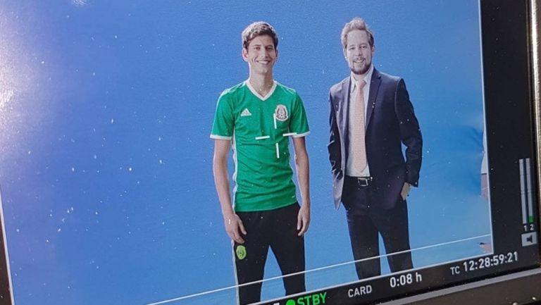 Pollo Ortiz: 'No estaba listo para narrar a la Selección en Televisa'