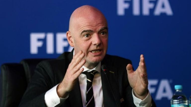 Gianni Infantino en un evento de la FIFA