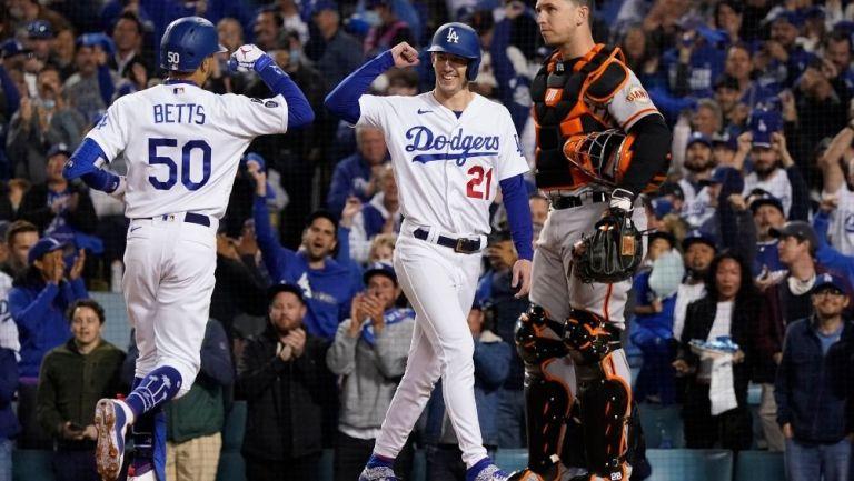 Dodgers venció a Giants