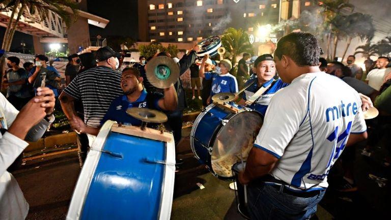 Aficionados de El Salvador