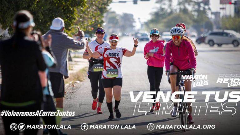 El Maratón Lala durante su realización