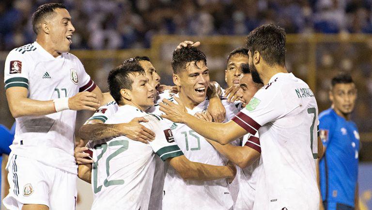 El festejo del gol de Héctor Moreno