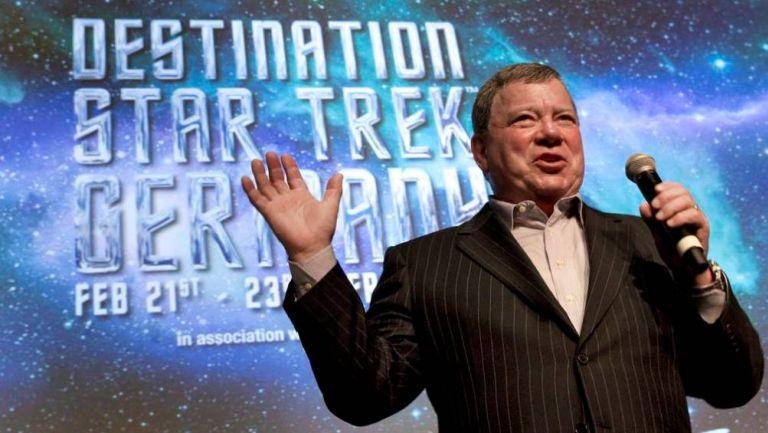 El actor canadiense William Shatner, en una conferencia