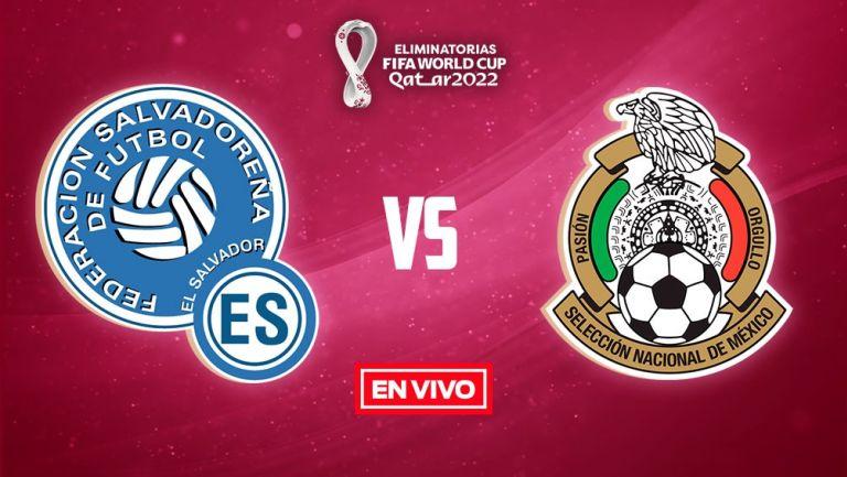 FUT EN VIVO México vs El Salvador