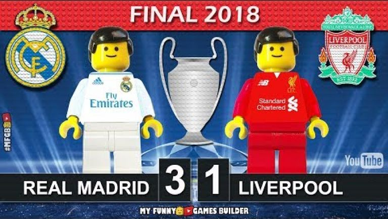 Embedded thumbnail for Crean versión lego de la Final entre Real Madrid y Liverpool