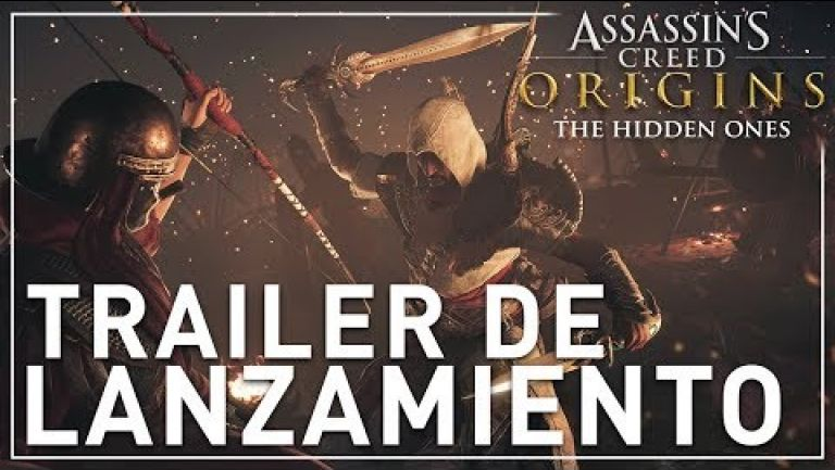 Embedded thumbnail for Disfruta de The Hidden Ones, el nuevo DLC de Assassin's Creed Origins