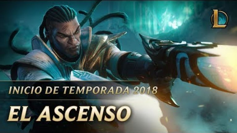 Embedded thumbnail for Impresionante trailer para iniciar temporada 2018 de League of Legends