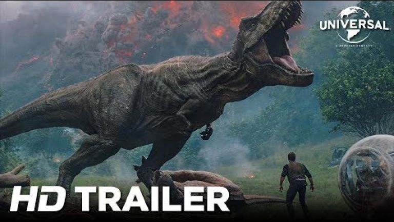 Embedded thumbnail for Revelan trailer de   Jurassic World: Fallen Kingdom